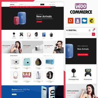 Digital Electronics WooCommerce Theme