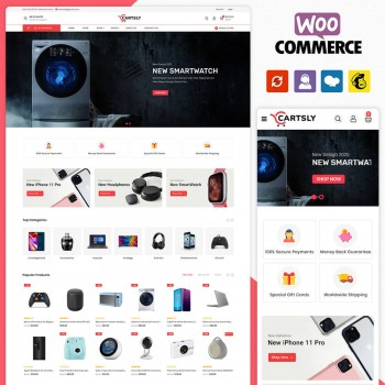 Cartsly Electronics WooCommerce Theme