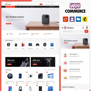 Clixbox Multistore WooCommerce Theme