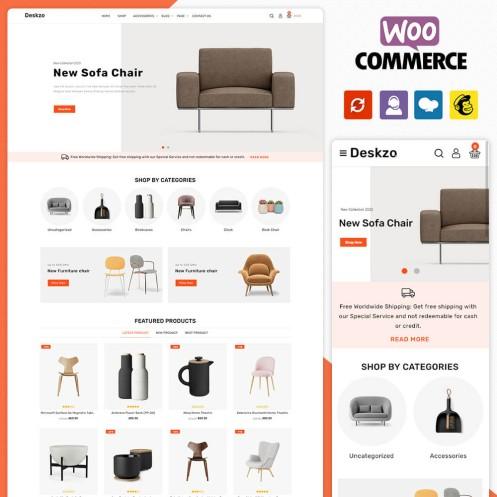 Deskzo Furniture Woocommerce Theme