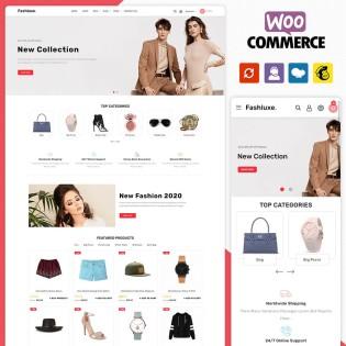 Fashluxe Fashion Woocommerce Theme