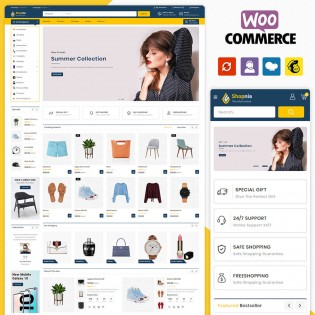 Shopnia Multistore WooCommerce Theme