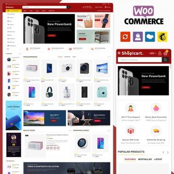 Shopicart Multistore WooCommerce Theme