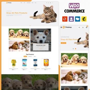 Petshop Petstore WooCommerce Theme