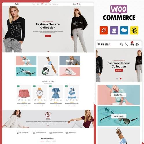 Fashr Fashion WooCommerce Theme