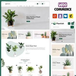 Plantish Plant WooCommerce Theme