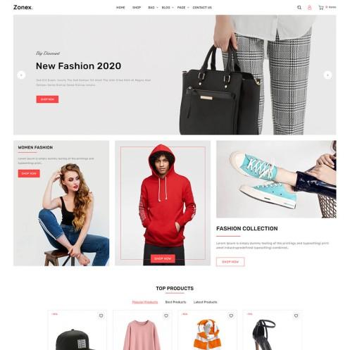Zonex Fashion Woocommerce Theme