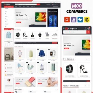 Shoplish Multistore WooCommerce Theme