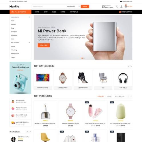 Martio Multistore WooCommerce Theme