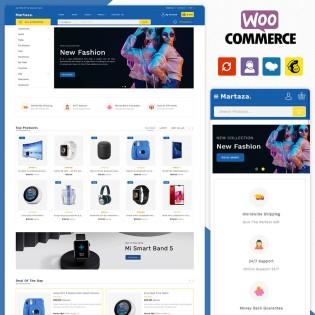 Martaza Multistore WooCommerce Theme