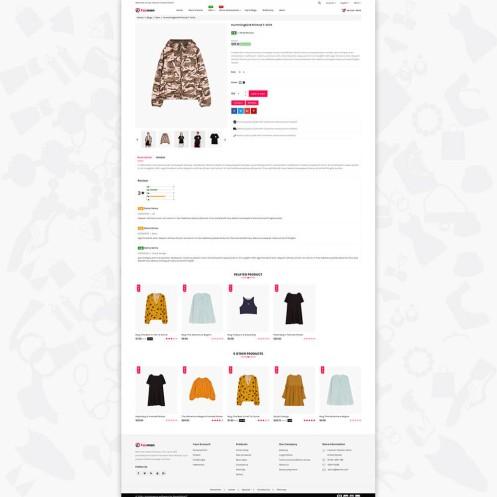 Faxmon - The Fashion PrestaShop Theme