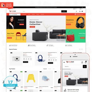 Flexbeat - The MUltiStore PrestaShop Theme