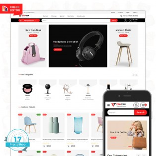 Flinterex - The MultiStore PrestaShop Theme