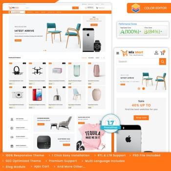 Mixmart - The MultiStore PrestaShop Theme