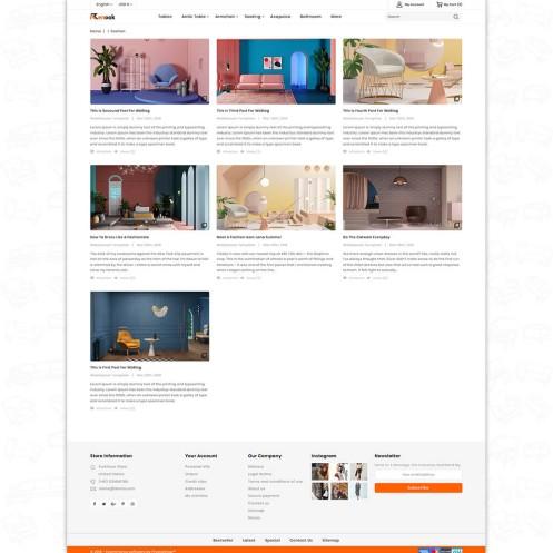 Renook - The Furniture PrestaShop Theme