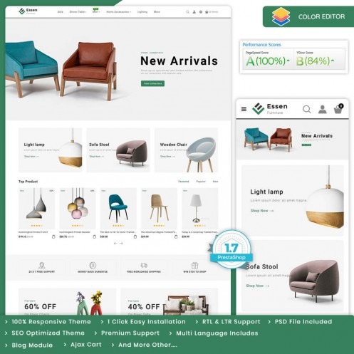 Essen - The Furniture PrestaShop Theme