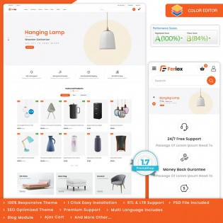 Feriox - The Furniture PrestaShop Theme