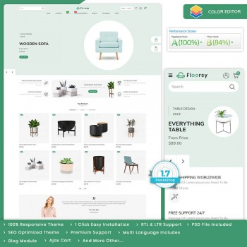 Floorsy - The Furniture PrestaShop Theme