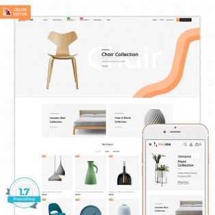 Revista - The Best Furniture PrestaShop Theme