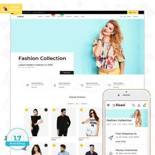 Sizani - The Best Fashion PrestaShop Theme