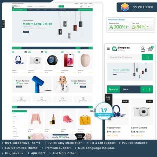 Shopeza - The MultiStore PrestaShop Theme