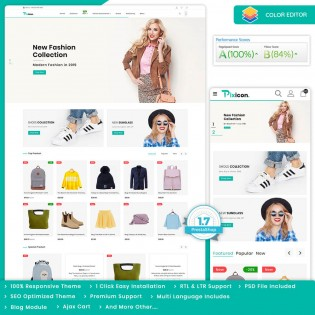 Pixicon - The Fashion PrestaShop Theme