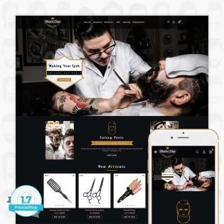 Barber Shop - The Premium Shop - PrestaShop Theme