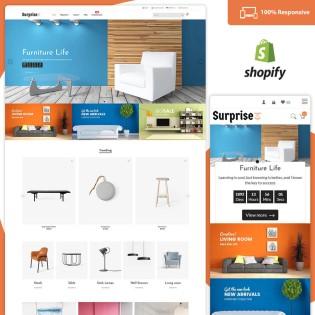 Surprise – Furniture Store Free Shopify Theme