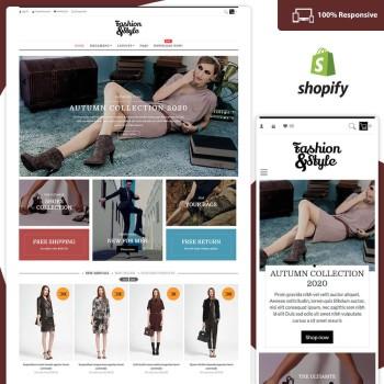 Fashion Store – Free Clothing Shopify Theme