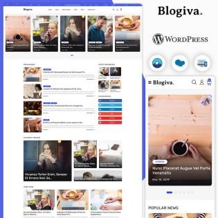 Blogiva Multi-Concept Blog & News WordPress Theme