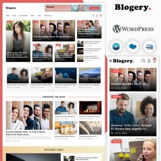 Blogery Multi Purpose Blog & News WordPress Theme