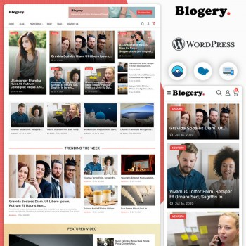 Blogery Multi Purpose Blog & News WordPress Theme