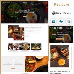 Repicure Restaurant Wordpress Theme