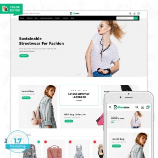 keenox - The Fashion PrestaShop Theme
