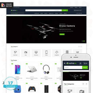 Solveza - The Electronics PrestaShop Theme