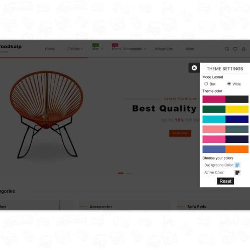 Woodkalp - The Best Furniture PrestaShop Theme