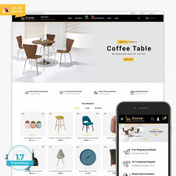 Coron The Best Furniture PrestaShop Theme