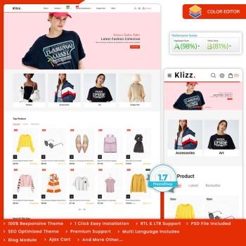 Klizz - The Fashion PrestaShop Theme
