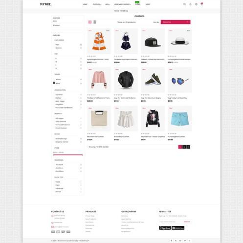 Mynxe - Fashion PrestaShop Theme