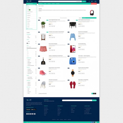 Lootbit - Multi Store PrestaShop Theme
