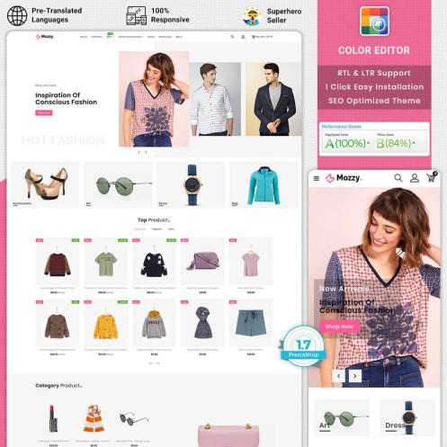 Mozzy - Fashion PrestaShop Theme