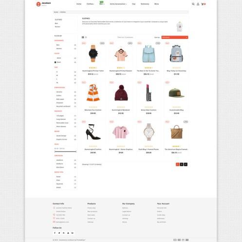 Jexmon - Fashion PrestaShop Theme