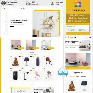 Falcon - Furniture PrestaShop  Theme