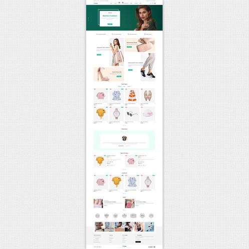 Fazena - Fashion PrestaShop  Theme