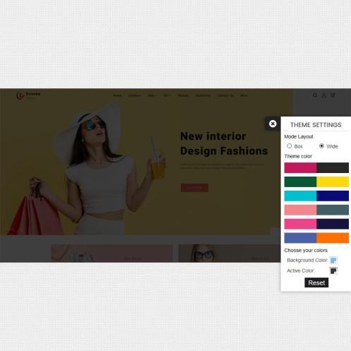 Evonea - Fashion PrestaShop Theme