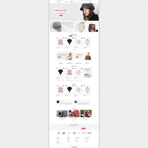 Dozzby - Fashion & Clothing PrestaShop Theme