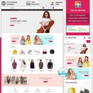Cartar - Fashion PrestaShop Theme