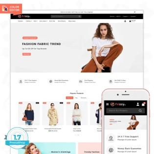 Frizzy-The Best Fashion PrestaShop Theme