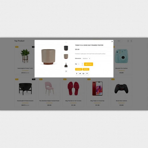Shopiox - Unique Super Multistore PrestaShop Theme