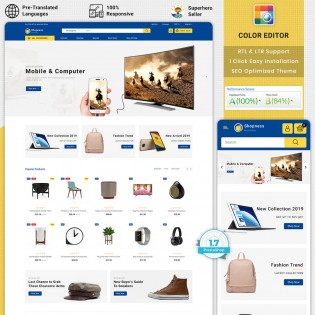 Shopness - Multipurpose Electronic PrestaShop Theme